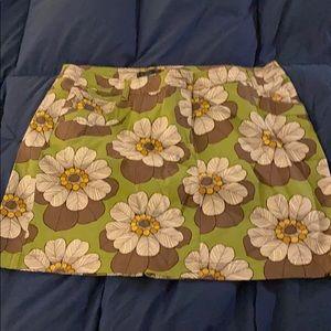 Boden flowered skirt